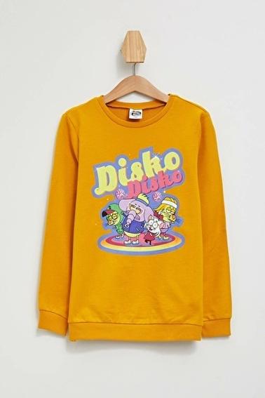 DeFacto Kral Şakir Lisanslı Sweatshirt Sarı